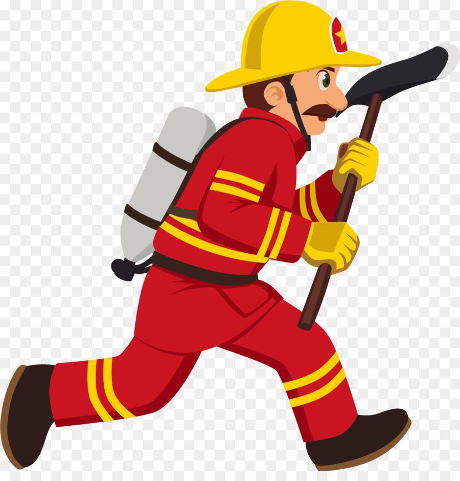 رجال الاطفاء الكرتون Royaltyfree صورة بابوا نيو غينيا