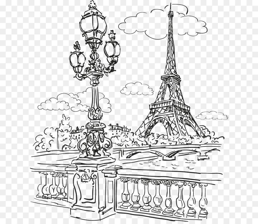 برج إيفل باريس الرسم صورة بابوا نيو غينيا